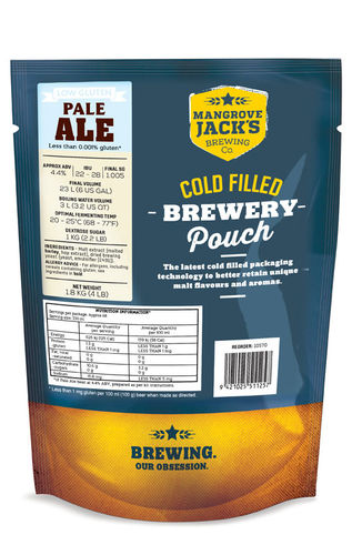 Mangrove Jack's Traditional Series Gluten Free Pale Ale Bierkit